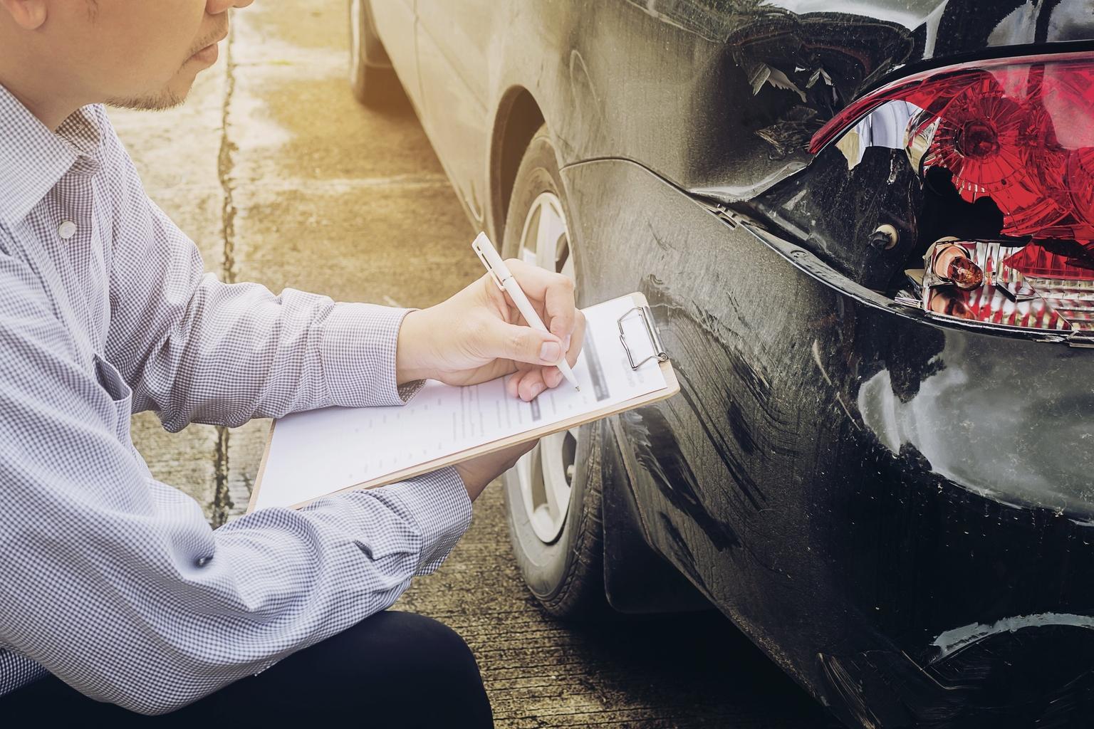 Teendõk közlekedési baleset esetén